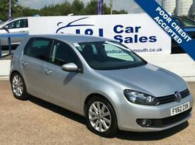 VOLKSWAGEN GOLF 2.0 GT TDI 5d 138 BHP A GREAT EXAMPLE INSIDE AND OUT (silver) 2012