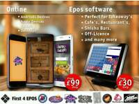 Epos software / system perfect for off-licence , takeaway, cafe, restaurants, shish bars etc