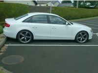 2012 Audi A4 2.0Tdi, New Model, in White, half leather