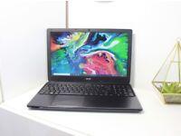 Acer laptop i7 processor, 500GB SSD, FHD Display, Win10