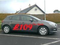2013 Vauxhall Astra 1.7Cdti Ecoflex, Free tax, full service history.