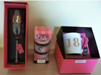 BIRTHDAY GIFTS FOR AN 18 YEAR OLD FEMALE, ALL BRAND NEW,