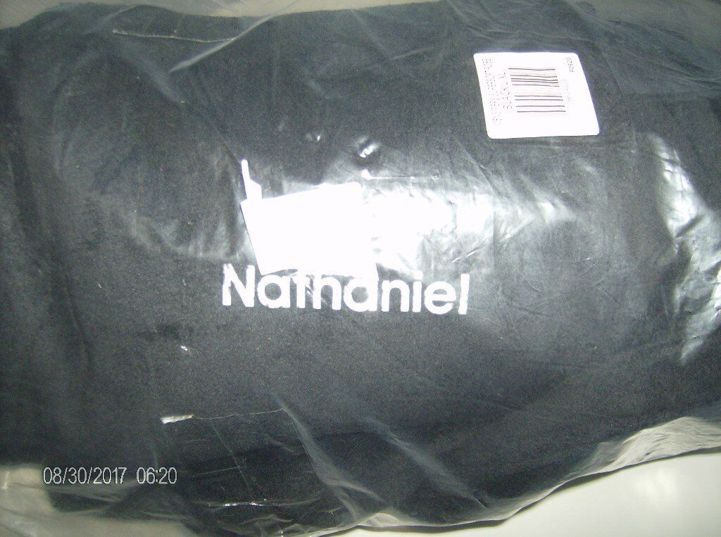 Mens Dressing Gown. New. XL. Black. Nathaniel