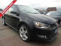 VOLKSWAGEN POLO 1.4 SEL 3d FULL SERVICE ONE OWNER BEAUTIFUL CONDITION DRIVES A1 (black) 2010