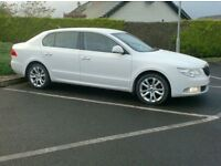 08 Skoda Superb 1.9Tdi Se, just in from England, in White, New Model.