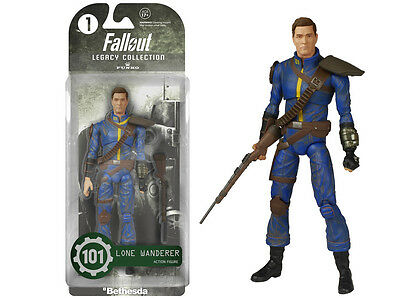 Funko Legacy Fallout: Lone Wanderer Articulated Action Figure Toy #101 Xmas Gift