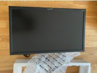 27-Inch Widescreen LED Monitor HANNspree1080p Full HD with HDMI, VGA and DisplayPort – Black (2nd)
