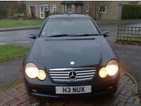 For Sale 2003 Mercedes C180 Kompressor SE