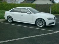 2010 Audi A4 Sline Special Edition, In White, black Leather/Suede Interior