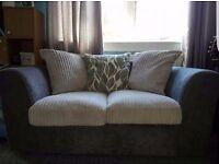 Quality British made, beautiful 2 seat sofa. almost new
