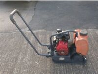 BELLE PCLX 320 WACKER/COMPACTOR PLATE WITH WATER TANK (Honda 3.0HP GX100 Engine)