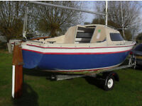 Sailfish 18 in good condition with a very good trailer