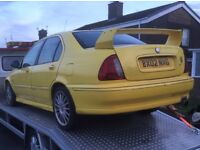 Mg zs 180 1 owner from new
