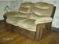 Free 2 x 2 electric reclining sofas
