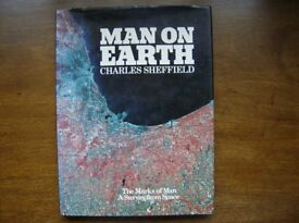 Man on Earth The Marks of Man – A Survey from Space HARDBACK Author: Charles Sheffield