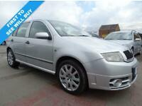 SKODA FABIA 1.9 VRS TDI 129 BHP DRIVES A1 FSH YEAR MOT (silver) 2004 for sale  Leicester, Leicestershire