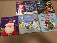 5 x various xmas storybooks