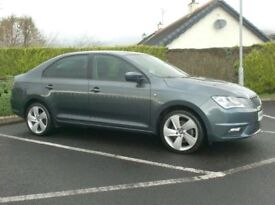 2014 Seat Toledo, 1.6Tdi Cr SE, with Sat nav, £20 tax,