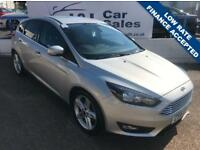 FORD FOCUS 1.5 ZETEC TDCI 5d 118 BHP A GREAT EXAMPLE INSIDE AND OUT (silver) 2016