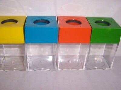Wholesale Set Of 4 Paper Clip Holder Home Office School Desk Paperclip Magnetic