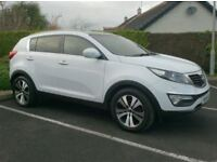 2012 Kia Sportage ISG-3, Full Leather and Pan Roof
