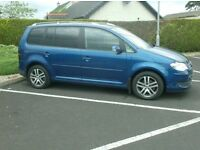 08 Vw Touran 1.9Tdi Se, very clean 7 Seater, full service history.
