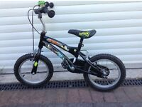 "Boys Ben 10 bike 14"" wheels (suit 4-6 year old)"
