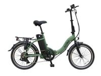 Viking Arriba folding E-bike; 20 inch wheels 7 speed shimano gears, 250 w brushless motor
