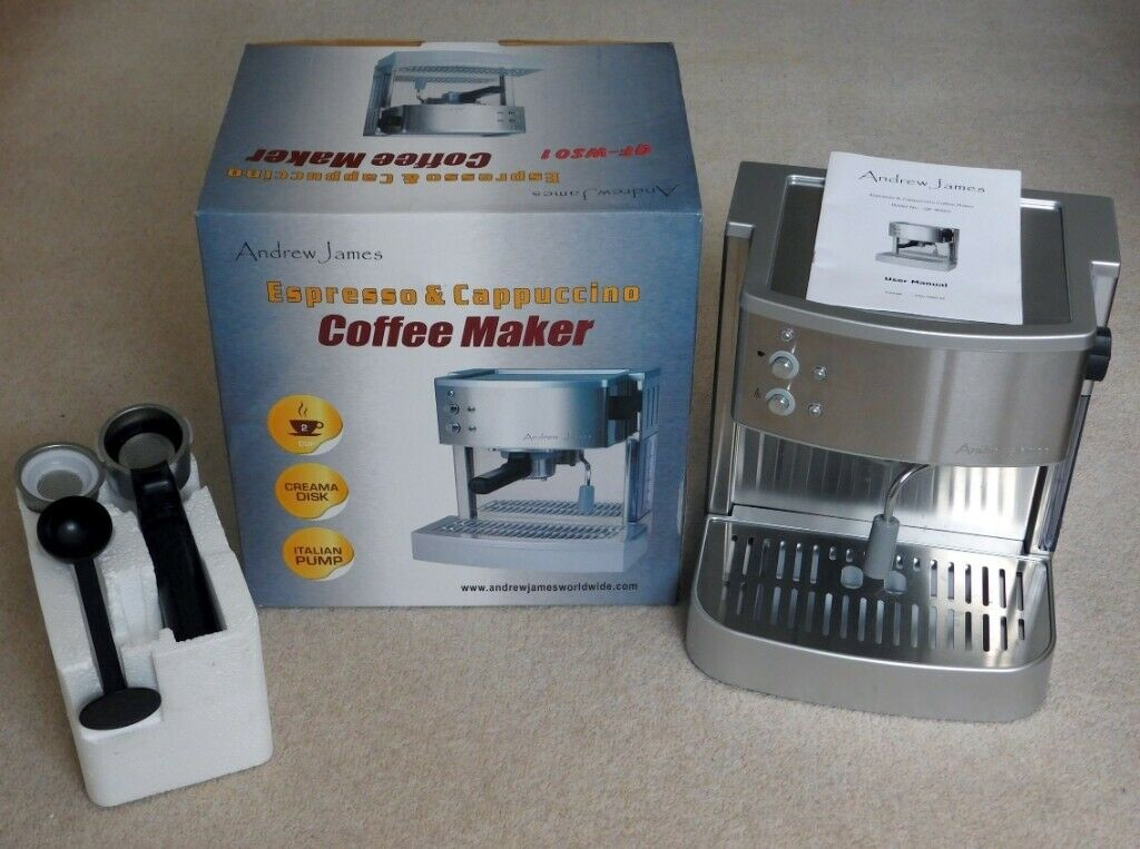 Espresso And Cappuccino Coffee Maker Andrew James Qf Ws01 In Winchester Hampshire Gumtree