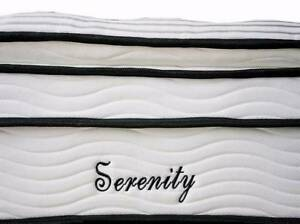 QUEEN Size Bed Mattress Orthopedic Pocket Spring Pillow Top