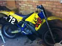 Rm 125 1989 bin sat for years in garage