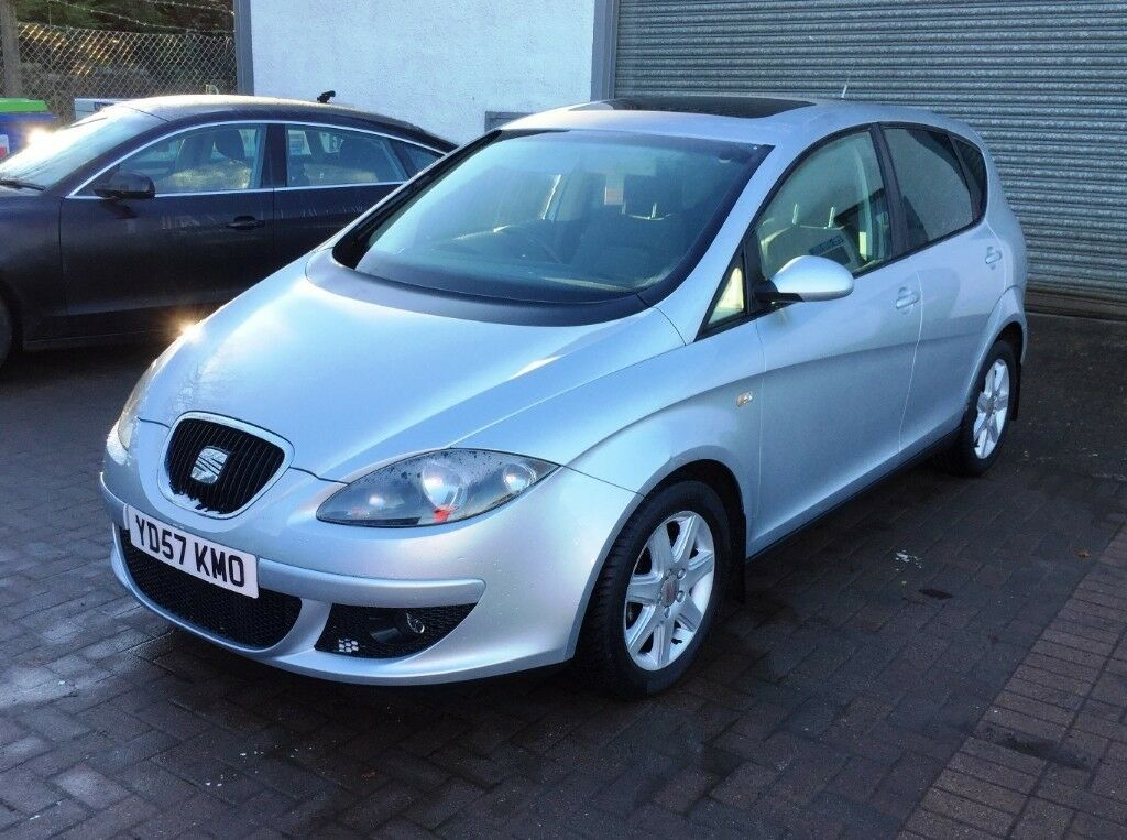 Seat Altea Stylance 2007 57 Plate 1 9 Tdi Silver 5 Dr