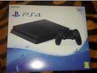 PS4 Jet Black 500GB *NEW*