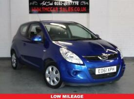 HYUNDAI I20 1.4 COMFORT CRDI 3d 74 BHP £20 road tax a year (blue) 2011