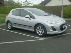 2012 Peugeot 308, Facelift model, Uk car, £20 to tax.