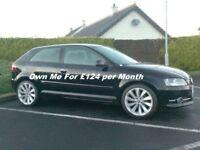 2011 Audi A3 1.6Tdi, £20 tax, 18inch Sciroccos