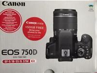 Canon EOS 750 D DSLR 600 OnO