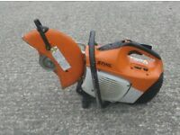 STIHL TS410 2 STROKE PETROL CUT OFF SAW (c/w Quality Used Diamond Blade)