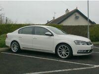 2013 Vw Passat 1.6Tdi Bluemotion, One Owner Company Car, White!!