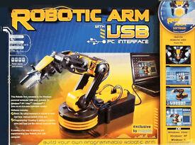 Robotic Arm Kit - USB Controlled - NEW