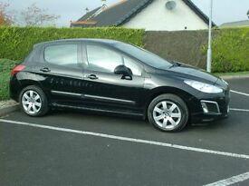 2012 Peugeot 1.6Hdi Sr, £20 to tax, Alloys, Sat Nav