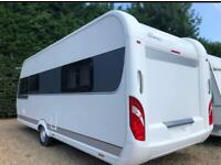 Hobby caravan 560 ffe excellent (2014) single axle, island bed. Like fendt/lmc