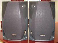AIWA SX-FZR77 3 WAY SURROUND SPEAKER SYSTEM WXHXD 290X444X320