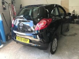 FORD KA BLACK 1.2L - IN VERY GOOD CONDITION PRICE CAN BE NEGOTIATED