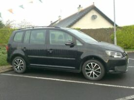 2012 Vw Touran 1,6Tdi One Owner 7 Seater, full History.