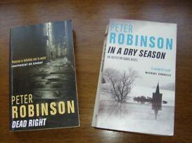 Peter Robinson Inspector Banks Series Consecutive titles 9 & 10