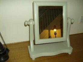 Shabby Chic Dressing Table/Vanity Mirror