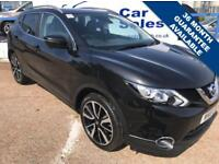 NISSAN QASHQAI 1.5 DCI TEKNA 5d 108 BHP A GREAT EXAMPLE INSIDE AND OUT (black) 2015