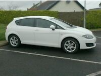 2011 Seat Leon Tdi SE, Free Tax ,, sat nav, in White!!