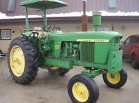 John Deere tractor for sale.